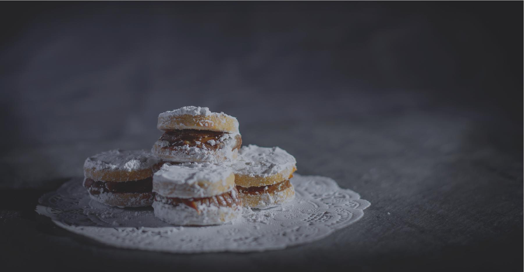 Alafajores cookies